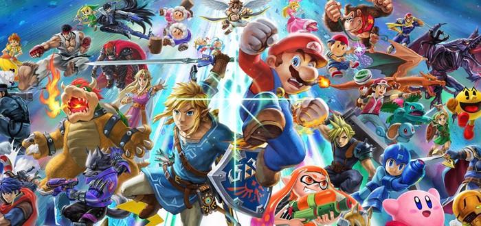 1.2 миллиона копий Super Smash Bros. Ultimate за три дня продаж в Японии