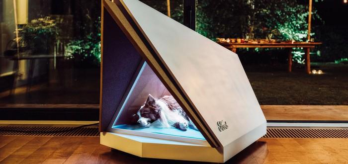 Ford показала звукоизолирующую будку для собак с фобией фейерверков