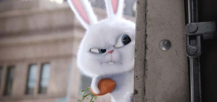 """Кролик-супергерой в новом трейлере мультфильма """"Тайная жизнь домашних животных 2"""""""
