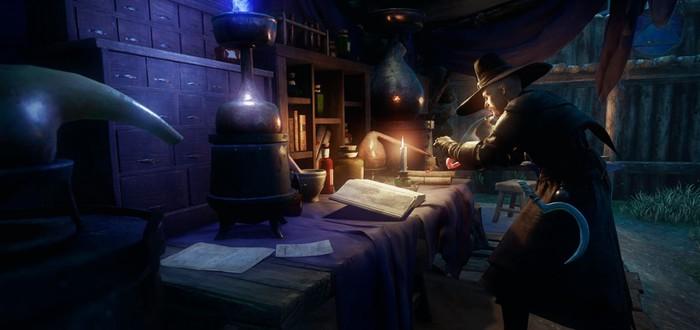 Новые скриншоты MMO New World представляют строительство крепости
