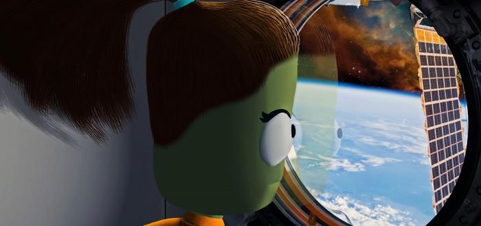 Игрок построил в Kerbal Space Program роботов-трансформеров