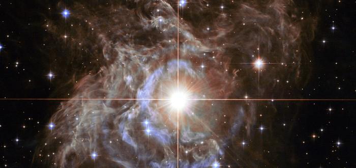 """Телескоп """"Хаббл"""" сделал снимок венценосной переменной звезды"""