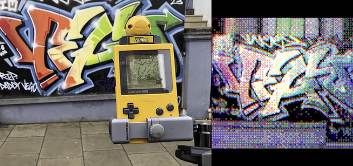 Умелец заставил древнюю камеру Game Boy снимать цветные фото