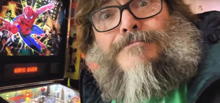 Джек Блэк опубликовал первое игровое видео на своем новом канале