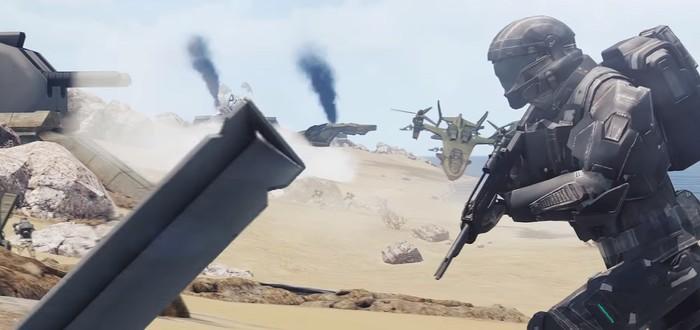Мод Operation: Trebuchet для Arma III превращает игру в Halo