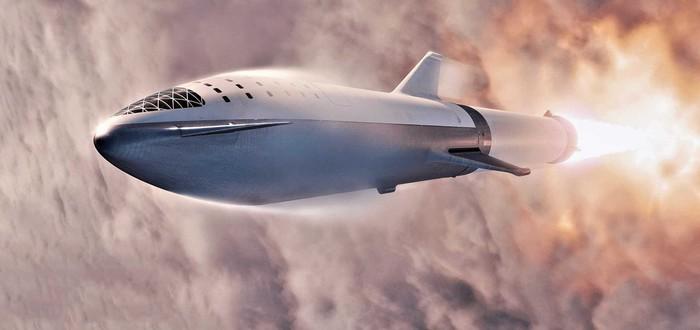 Илон Маск показал реальное фото космического корабля Starship