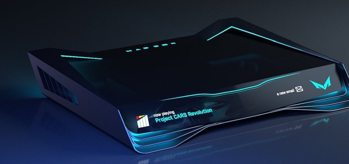 Slightly Mad Studios показала изменённый внешний вид консоли Mad Box