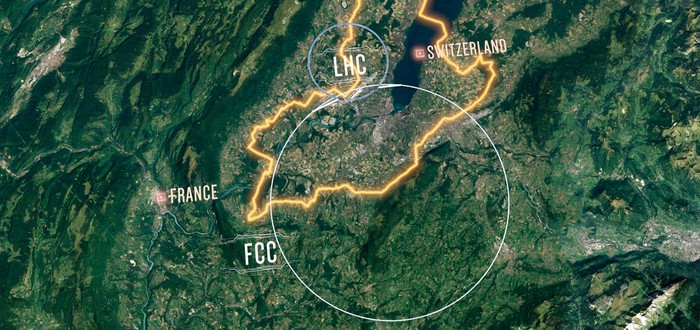 CERN представил планы на 100-километровый коллайдер