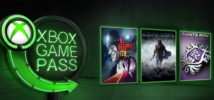 Xbox Game Pass в январе пополнится We Happy Few и Middle-earth: Shadow of Mordor