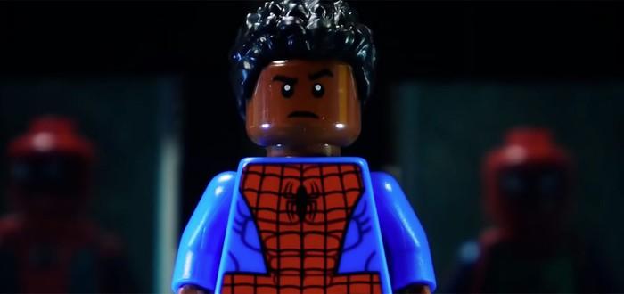 """""""Человек-паук: Через вселенные"""" в виде Lego"""