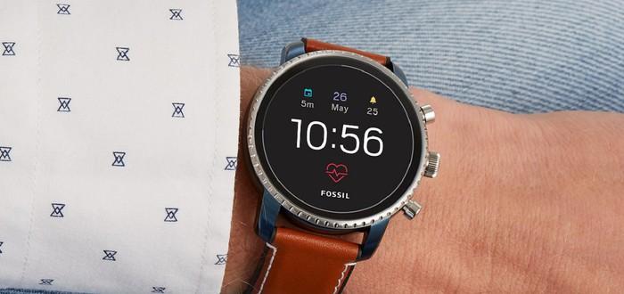 Google приобрела технологию умных часов у компании Fossil Group