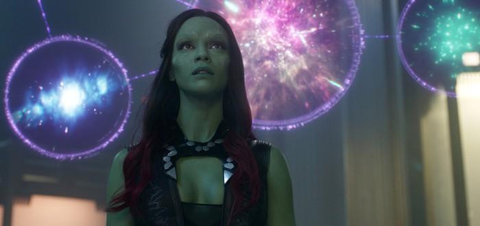 """На ранних концептах """"Стражей Галактики"""" Гамора выглядела иначе"""