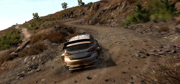 Дебютный трейлер рейсинга WRC 8