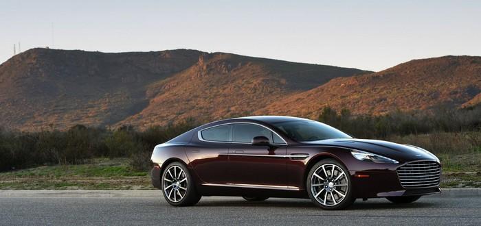 Aston Martin продемонстрировала свой первый электрокар в движении