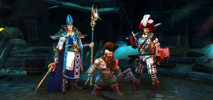 12 минут геймплея Warhammer: Chaosbane за дварфа