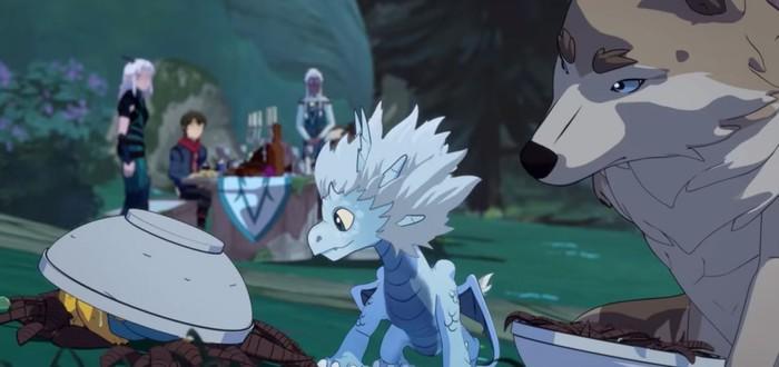 Первый трейлер второго сезона сериала The Dragon Prince