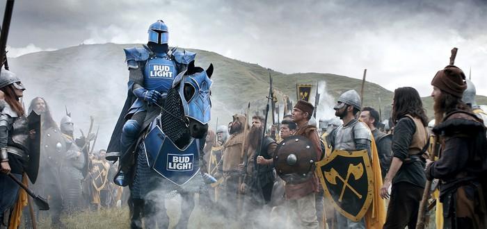 """Забавный рекламный ролик Bud Light в стиле """"Игры престолов"""""""