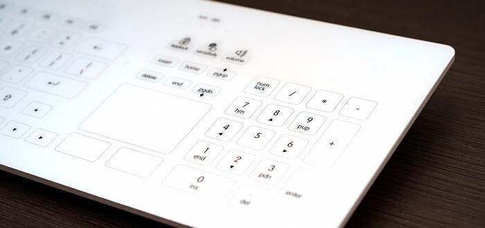 Apple оформила патент на трансформируемую стеклянную клавиатуру