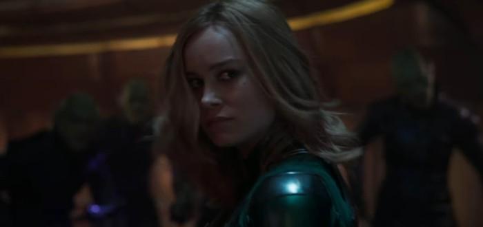 """В новом рекламном ролике """"Капитан Марвел"""" героиня передразнивает Скруллов"""