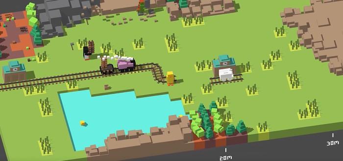 Unrailed — роуглайк про строительство железной дороги