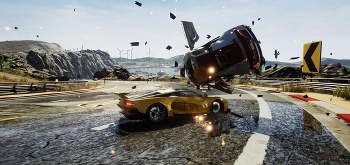 Dangerous Driving от бывших разработчиков Burnout стала еще одним эксклюзивом Epic Games Store