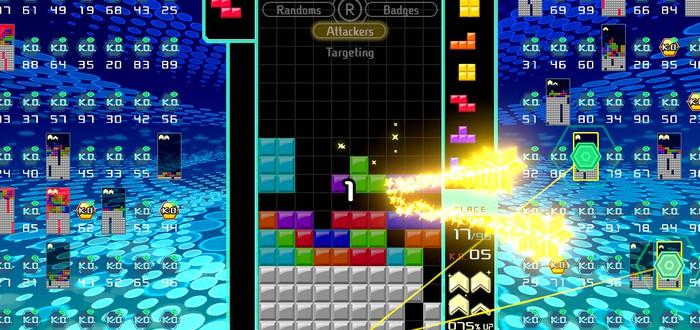 Tetris 99 — бесплатная королевская битва для Nintendo Switch