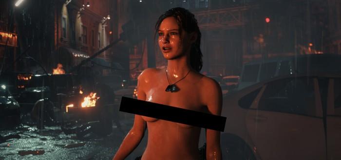 """14 февраля — лучший день, чтобы выпустить """"голый мод"""" Клэр Редфилд для Resident Evil 2"""