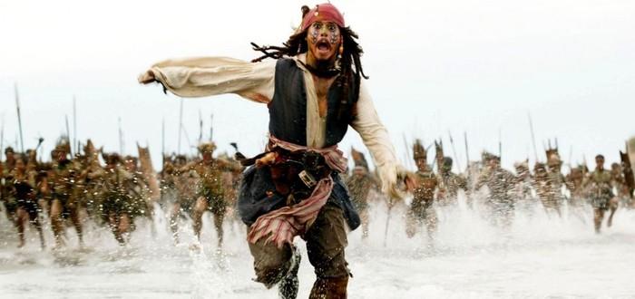 """Перезапуск """"Пиратов карибского моря"""" остался без сценаристов"""