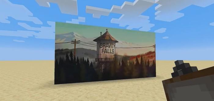 Обновление Minecraft позволило создавать в игре рабочие телевизоры
