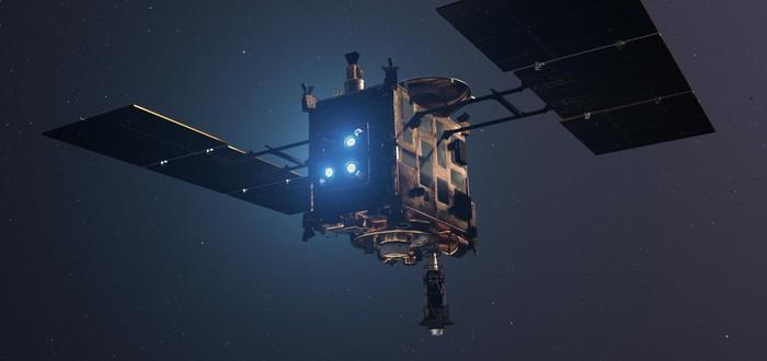 Японский аппарат Hayabusa 2 приземлился на поверхность астероида