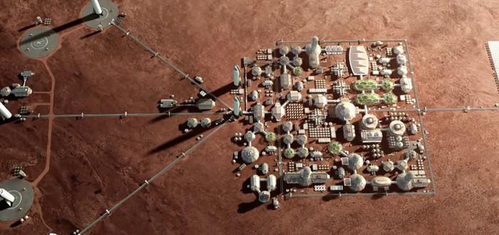 Илон Маск представляет марсианскую колонию веселым местом с открытым воздухом