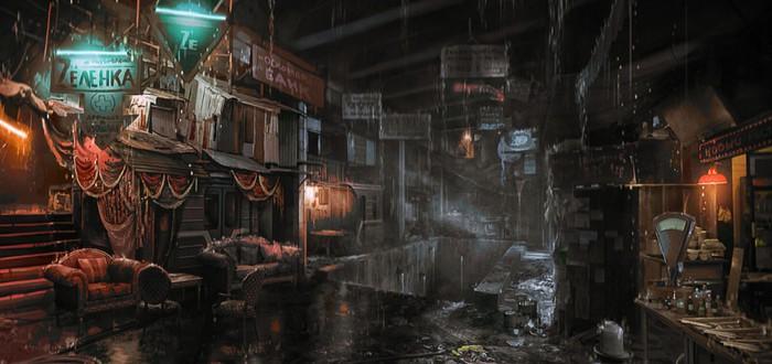Арты и концепты Metro Exodus от художников игры