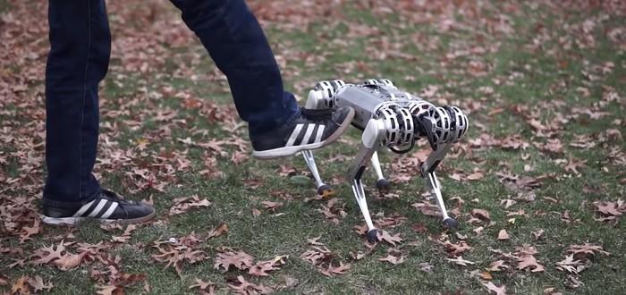 Инженеры MIT научили робота Mini Cheetah делать сальто