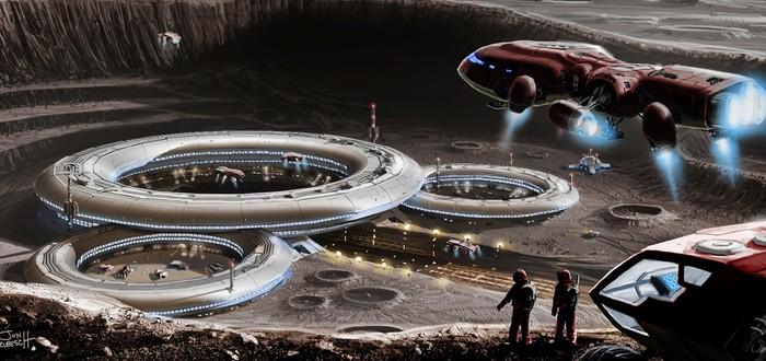 Илон Маск хочет построить перманентную лунную базу для людей
