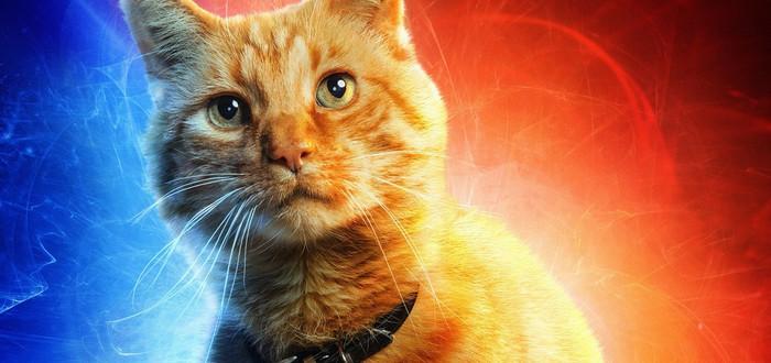 """Сэмюэл Л. Джексон рассказал о работе с котом из фильма """"Капитан Марвел"""""""