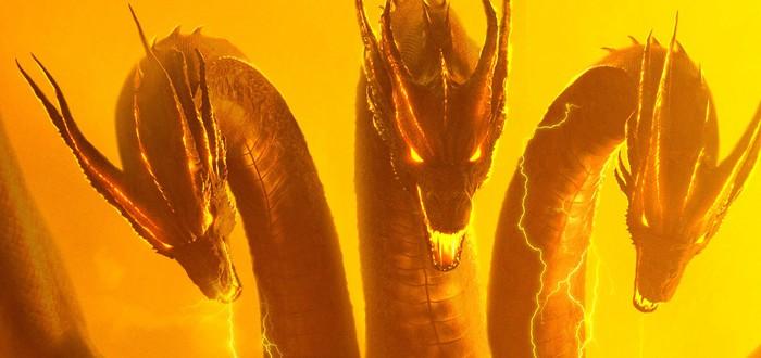 """Кинг Гидора на новых кадрах фильма """"Годзилла 2: Король монстров"""""""