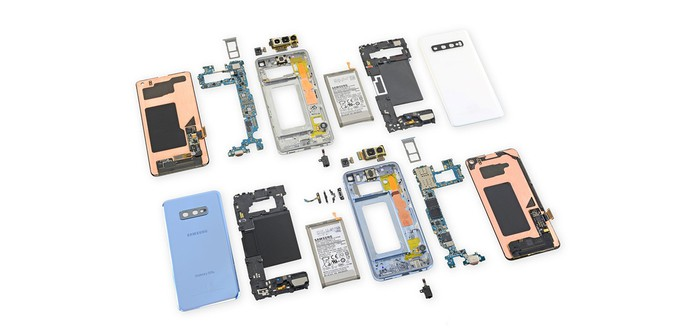 Вскрытие Samsung Galaxy S10