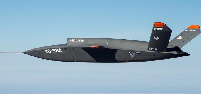 Американские военные показали полет нового боевого дрона на видео