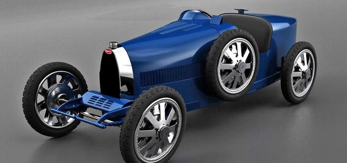 Bugatti представила электрокар за $33000 для богатых детей