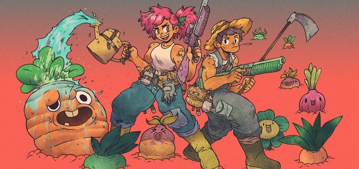 Смесь Fallout и Stardew Valley под названием Atomicrops обрела издателя
