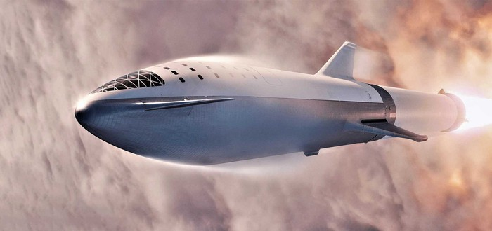 SpaceX протестировала тепловые щиты Starship