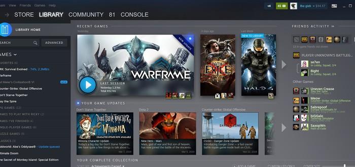 GDC 2019: Valve показала редизайн библиотеки Steam