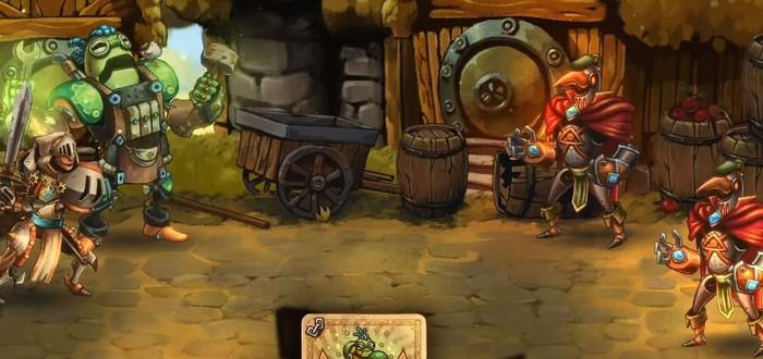 22 минуты геймплея SteamWorld Quest: Hand of Gilgamech