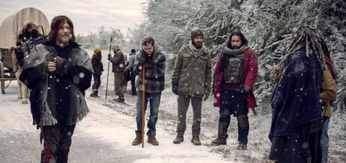 """В """"Ходячих мертвецах"""" начнется зима"""