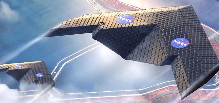 NASA и MIT представили новый тип меняющего форму крыла для самолетов