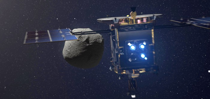 Японский космический аппарат Hayabusa2 взорвал астероид