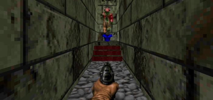 Мод превращает оригинальный Doom в коридорный шутер