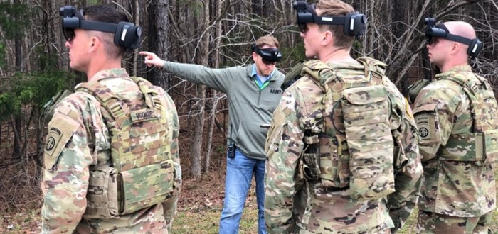 Армия США представила систему визуального дополнения на базе HoloLens