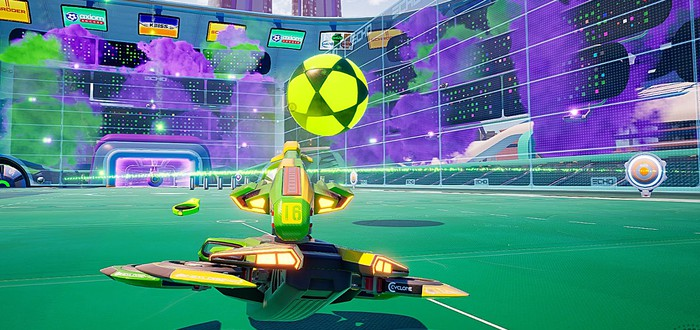 Rocket League со стрельбой — Axiom Soccer доступна бесплатно в Steam