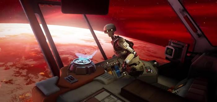 Новый трейлер VR-игры Vader Immortal